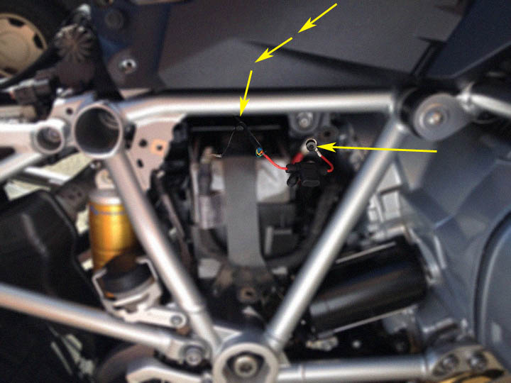 how to wiring a gps to the water cooled bmw r1200gs 2013 on rh blog touratech usa com BMW R1200GS Adventure BMW R1200R