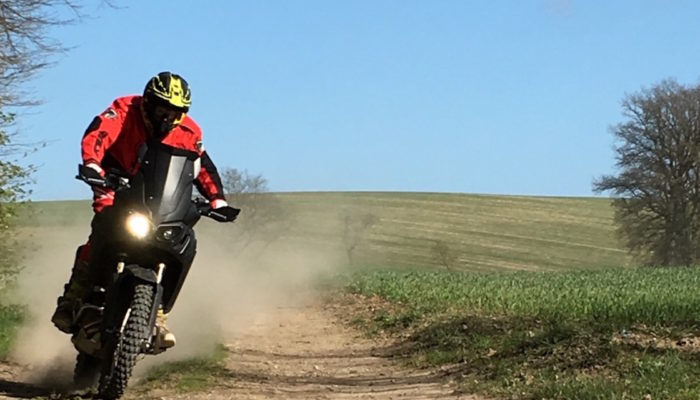 A sneak peak at Touratech's Africa Twin Rally Bike