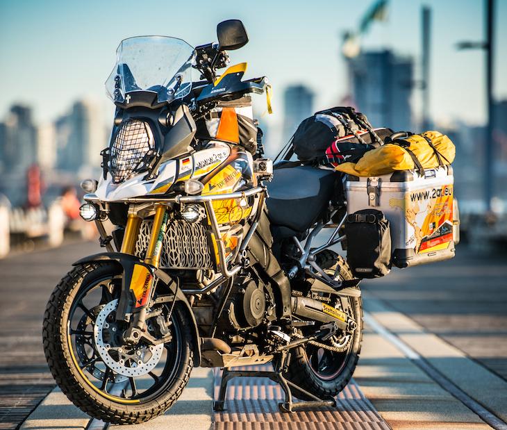 Bike Build Suzuki V Strom 1000 Touratech Usa