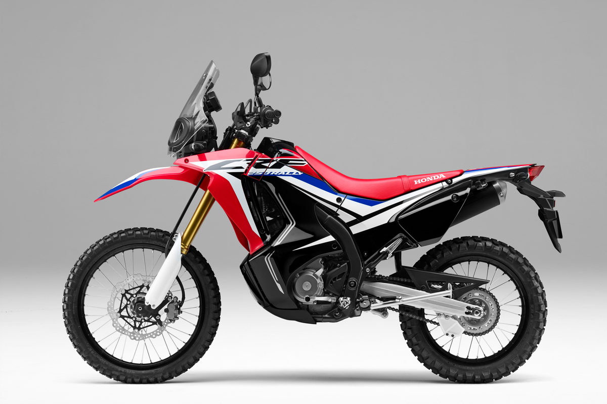 Whats New About The New Honda Crf250l Rally Touratech Usa