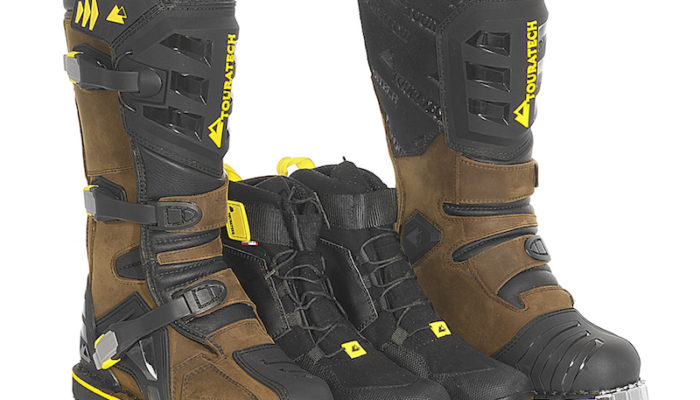 In Stock Report: The Touratech Destino ADV Boot is Here!
