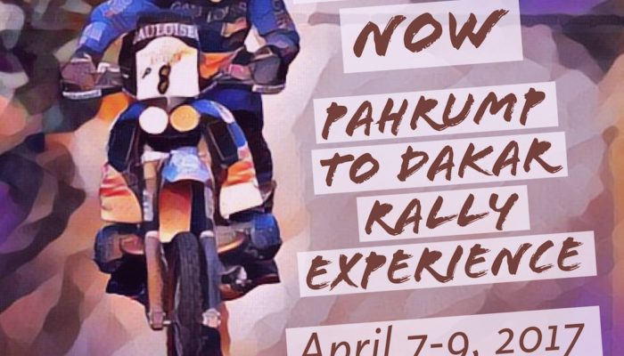 Jimmy Lewis Off-Road Presents: Pahrump to Dakar Rally Experience