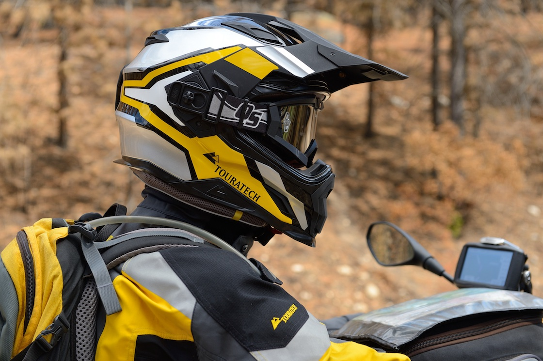 Touratech Aventuro Carbon Helmet Review  88eebfe693b2f