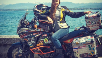 Almost five years on the road: Anna Grechishkina