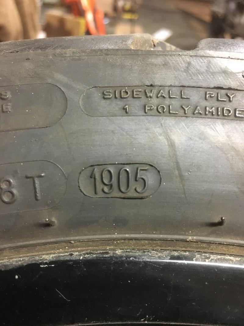 Tire Date Code 02