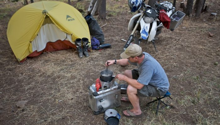 Motorcycle Camping Tips: Cooking on the Trail