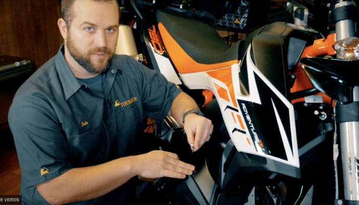 Installation: Upper Crash Bars for KTM 790 Adventure/R