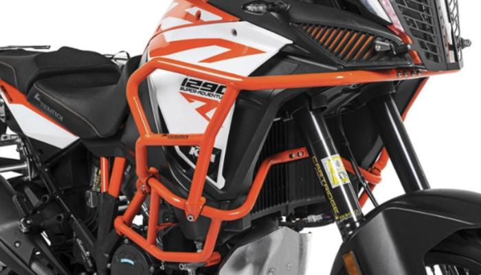 Upper Crash Bars : KTM 1290 Super Adventure are Here!