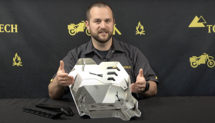 Touratech Expedition Skid Plate: Yamaha Tenere 700