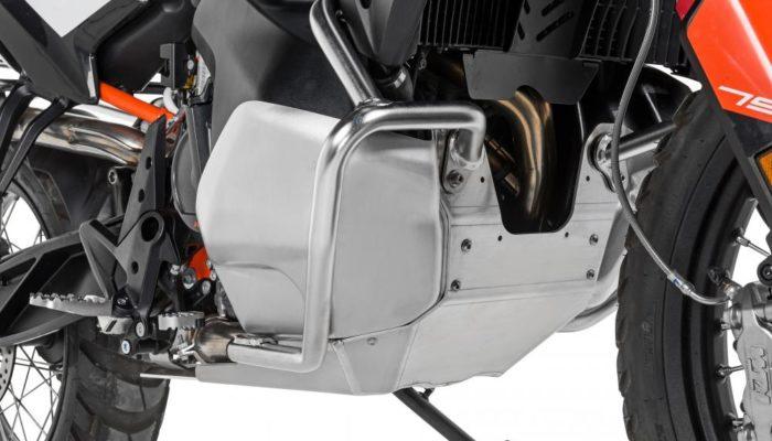 Stainless-Steel RallyForm Skid Plate – KTM 790 Adventure/R