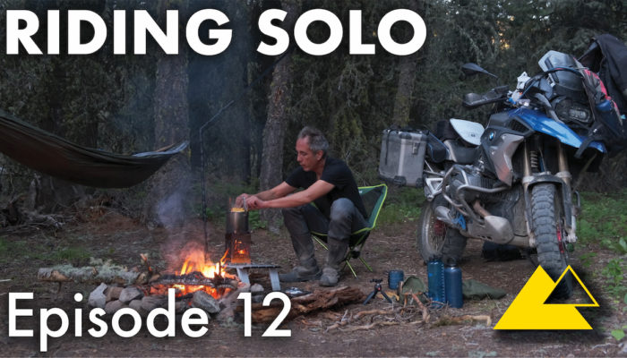 riding solo part 12 – remote forest camping in montana