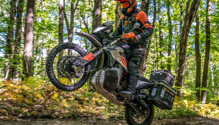 Mike Lafferty Rides NEBDR on Touratech-Equipped KTM 790 Adventure R