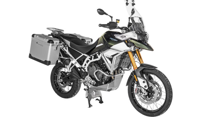 Upgrades for the Triumph Tiger 900 from Touratech