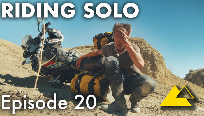 Riding Solo Part 20 – Oops! I Crashed in Colorado on my Motorcycle Adventure