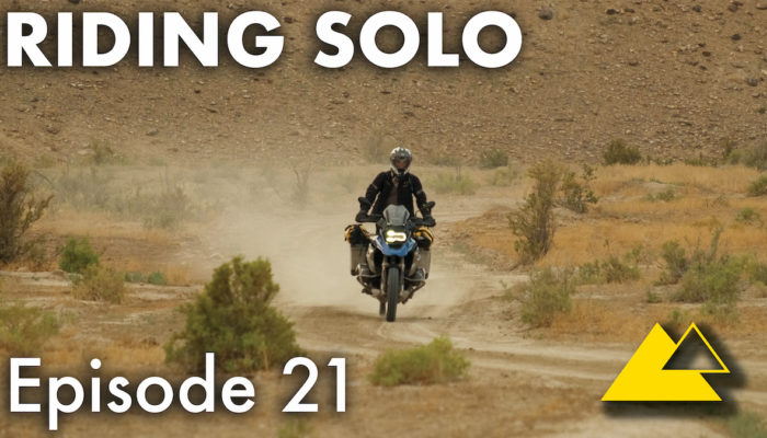 Riding Solo Part 21 – Motorcycle Camp and Cook with Coyotes in Colorado
