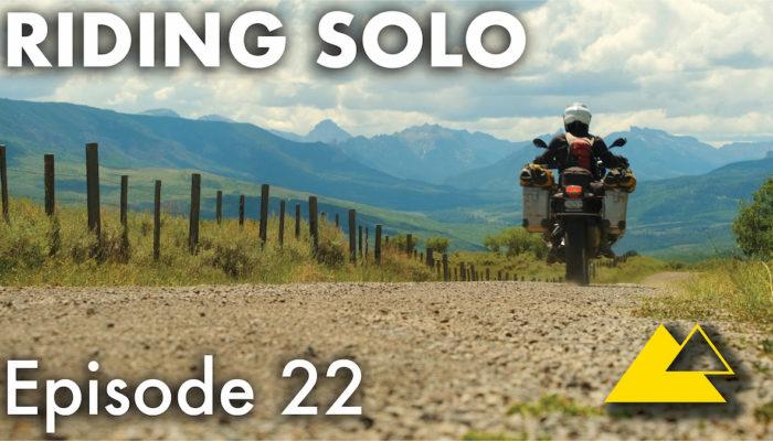 Riding Solo Part 22 – High Mountain Riding & Camping in Colorado