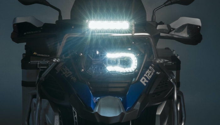 Pre-order today: TOURATECH ONROAD LIGHT BAR